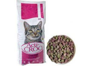 ACTI-CROQ  Cat chicken & cerals 2kg 31/11