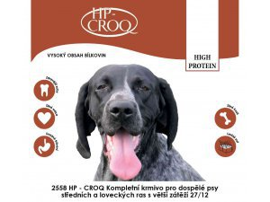 HP-CROQ Dog  High Protein 20kg