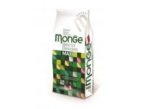 MONGE Dog Maxi Adult Kuře, rýže 27/12,5 15kg - chovatelské balení