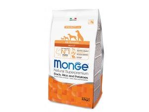 MONGE Dog Kachna, rýže,brambory 26/16  15kg - chovatelské balení - kachna.jpg