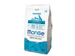 MONGE Dog Hypoallergenic Ryba, rýže 24/12 15kg - chovatelské balení - hypo.jpg