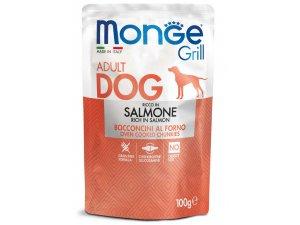 MONGE GRILL Dog Kapsička losos  100g/24bal
