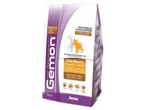 GEMON Dog Medium  Puppy & Junior - Kuře s rýží 31/16 3 kg