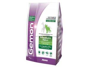 GEMON Dog Medium Adult Jehně s rýží 25/13 3 kg
