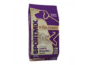 SPORTMIX Dog Wholesomes jehněčí s hnědou rýží 22/12 12kg