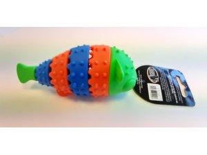 Ryba zeleno-modrá dentální - TPR 13.7x4.8x5.5cm
