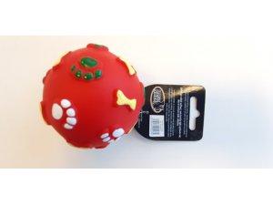 Míček červený - VINYL 8.5cm (100/1)
