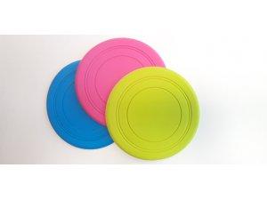 Frisbee růžový - TPR 18x18x18cm