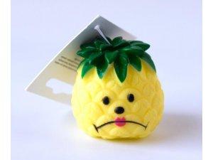 Ananas pískací VINYL  6x6cm