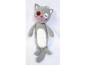 Kočka - pískací 33cm