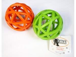 Děrovaný míč oranžový 12,5cm (72/1)