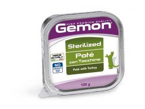 GEMON Cat HP paštika sterilized krůta 100g/32bal*
