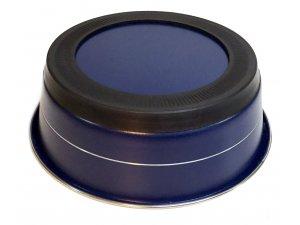 Miska ELEGANT protiskluzová - modrá 0,9l/17cm