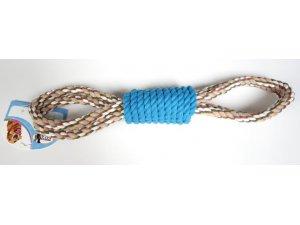 Přetahovadlo válec oboustranné 50cm modré (42/1)