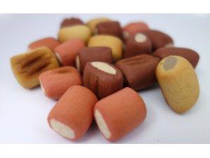 Sušenky trubičky MINI mix 1cm  10kg