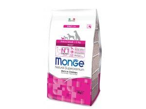 MONGE DOG EXTRA Mini Adult Kuře, rýže 3kg (26/14)
