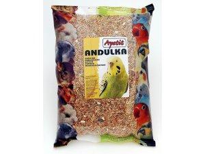 Apetit Andulky - základní krmná směs 800g (6ks/bal.)
