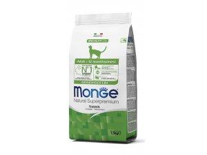 MONGE Cat Monoprotein Adult Králík 1,5kg