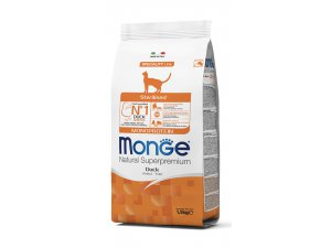 MONGE Cat Monoprotein Steril Kachna 1,5kg