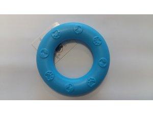 Kroužek úzký pro psy - modrý - TPR