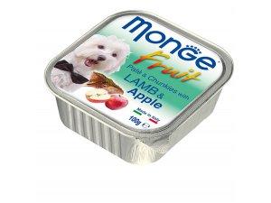 MONGE FRUIT Dog Jehně s jablkem  100g/32ks