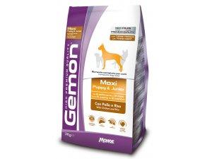 GEMON Dog Maxi Puppy Kuřecí s rýží 27/15 3kg