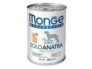 Monge Dog SOLO Kachna monoprotein  400g/24bal