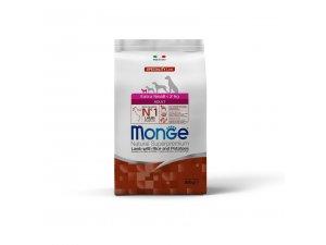 MONGE DOG Superpremium EXTRA Mini Adult, jehně, rýže, brambory 0,8kg26/15)