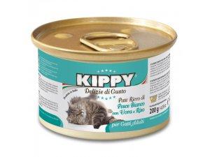 KIPPY Cat ryby/vejce/rýže 200g/24kart.