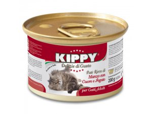 KIPPY Cat hov/srd./játra 200g/24kart.