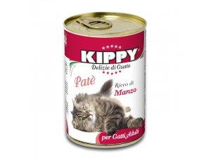 KIPPY Cat hovězí 400g/24kart.