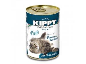 KIPPY Cat ryba+zelen 400g/24kart.