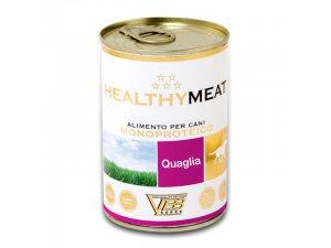 HEALTHY MEAT Dog křepelka 400g/24kart.