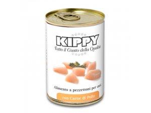 KIPPY Dog kousky v omáčce - kuře 400g/24kart.