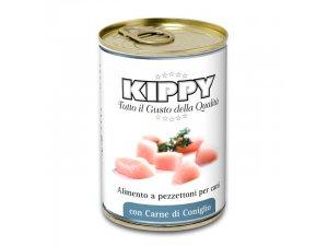 KIPPY Dog kousky v omáčce - králík 400g/24kart.