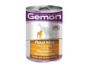 GEMON Dog HP Mini kousky kuře,rýže 415g/24bal